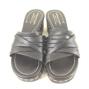 Donald J Pliner Platform Wedge Sandals